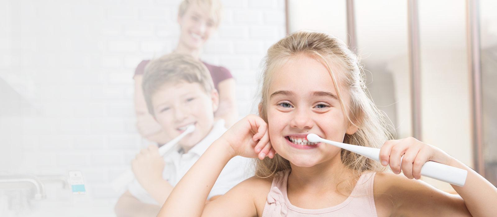 first smart, fun, beautiful sonic toothbrush