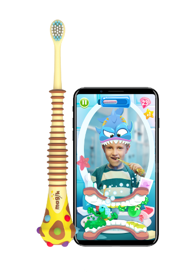Magik toothbrush and app